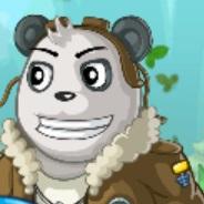 الباندا الطيار